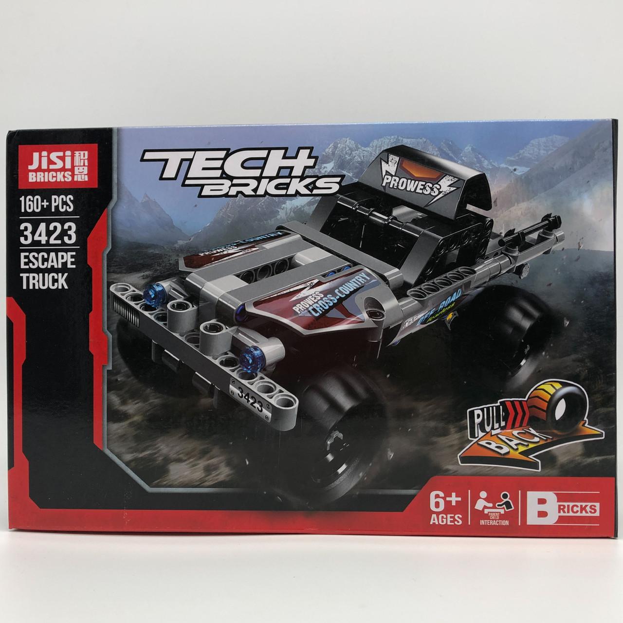 Конструктор Decool Jisi Bricks Tech Bricks 3423 160 деталей