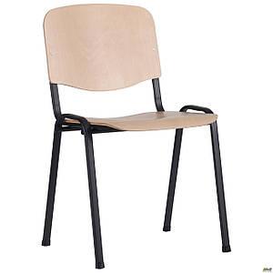 Шкільний стілець АМФ З Вуд чорні ніжки сидіння-фанера бук