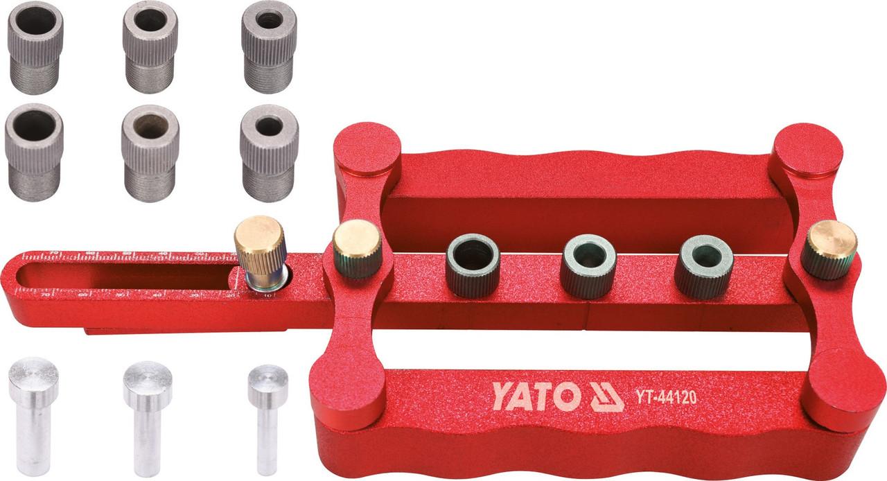 Устройство для штифтовых соединений Yato 6, 8, 10 мм, ширина 17-50 мм (YT-44120)