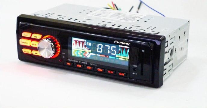 Магнитола для автомобиля Pioneer 6240 Качественная Автомагнитола