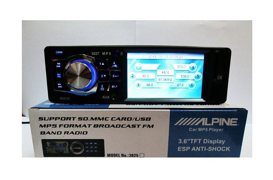 Магнитола для автомобиля Alpine 3027