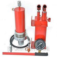 Комплект: цилиндр гидравлический для пресса с манометром 30 тонн Profline +Насос гидравлический 30 тонн