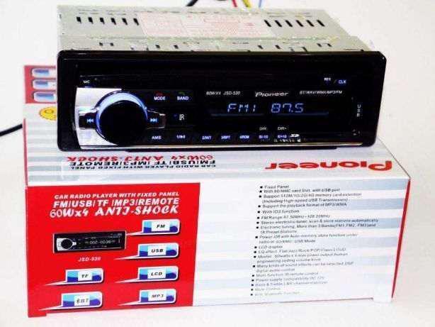 Магнитола Pioneer JSD-520 НЕДОРОГО