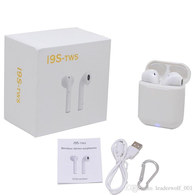 Беспроводные Bluetooth наушники iFans TWS i9S White