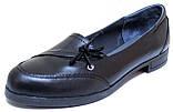 Женские туфли большого размера кожаные от производителя модель ВБ1014, фото 2