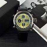 AMST Black-Green Black Wristband, фото 3
