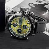 AMST Black-Green Black Wristband, фото 6