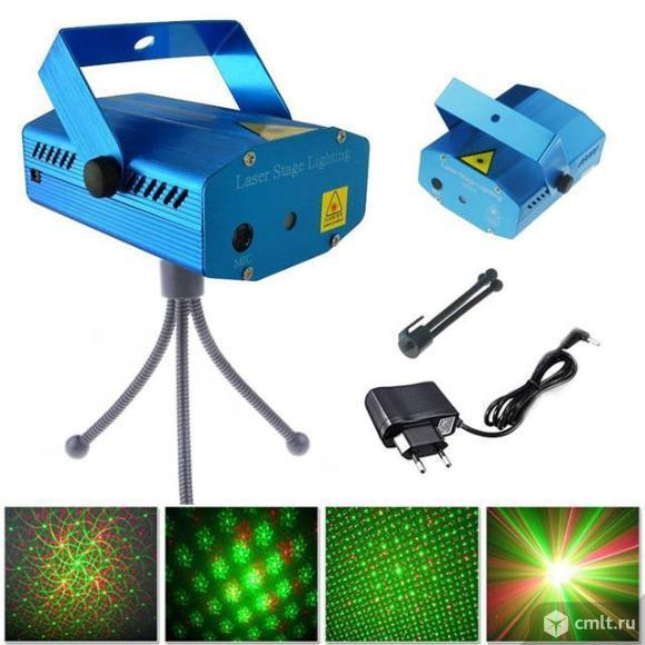 Лазерный проектор для новогодних ШОУ