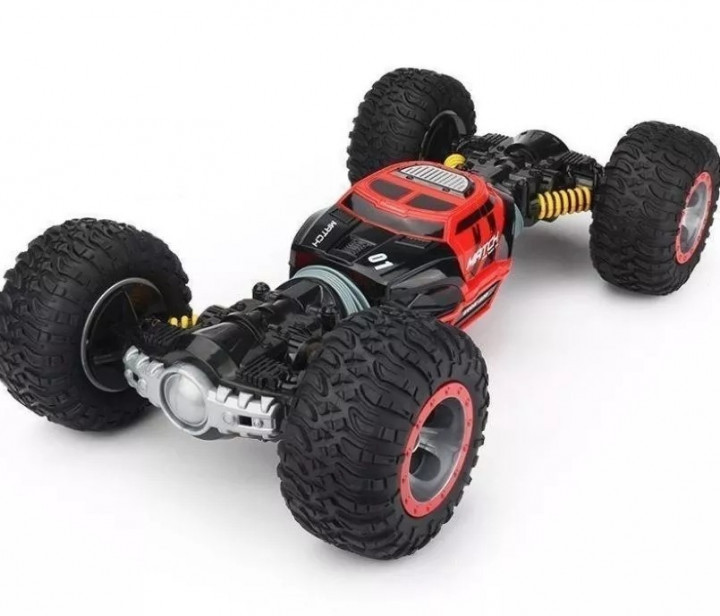 Crawler Car Double Side Red 2588Машинка-перевертыш