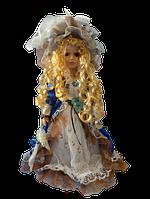 Кукла колекционная фарфоровая  Анна высота 42 см