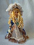Кукла колекционная фарфоровая  Анна высота 42 см, фото 2