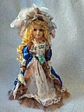 Кукла колекционная фарфоровая  Анна высота 42 см, фото 4