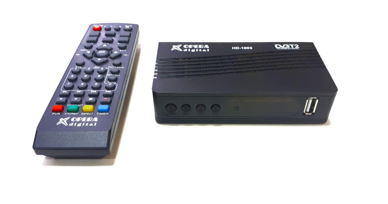 """Т2 OPERA DIGITAL HD-1003      """"Т2  Тюнер"""" цифровое телевидение"""