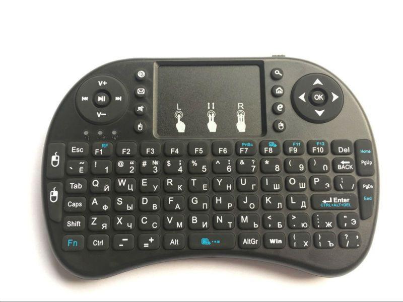 Беспроводная клавиатура Android Smart Tv