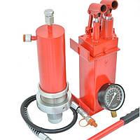 КОМПЛЕКТ цилиндр гидравлический для пресса с манометром 20 тонн Profline 97320+Насос гидравлический 20 тонн