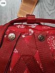Рюкзак шведской марки  Kanken Fjallraven (бордовый) 337KN, фото 5