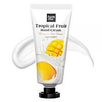 Крем для рук с экстрактом манго и маслом ши FarmStay Tropical Fruit Hand Cream Mango & Shea Butter,  50 мл