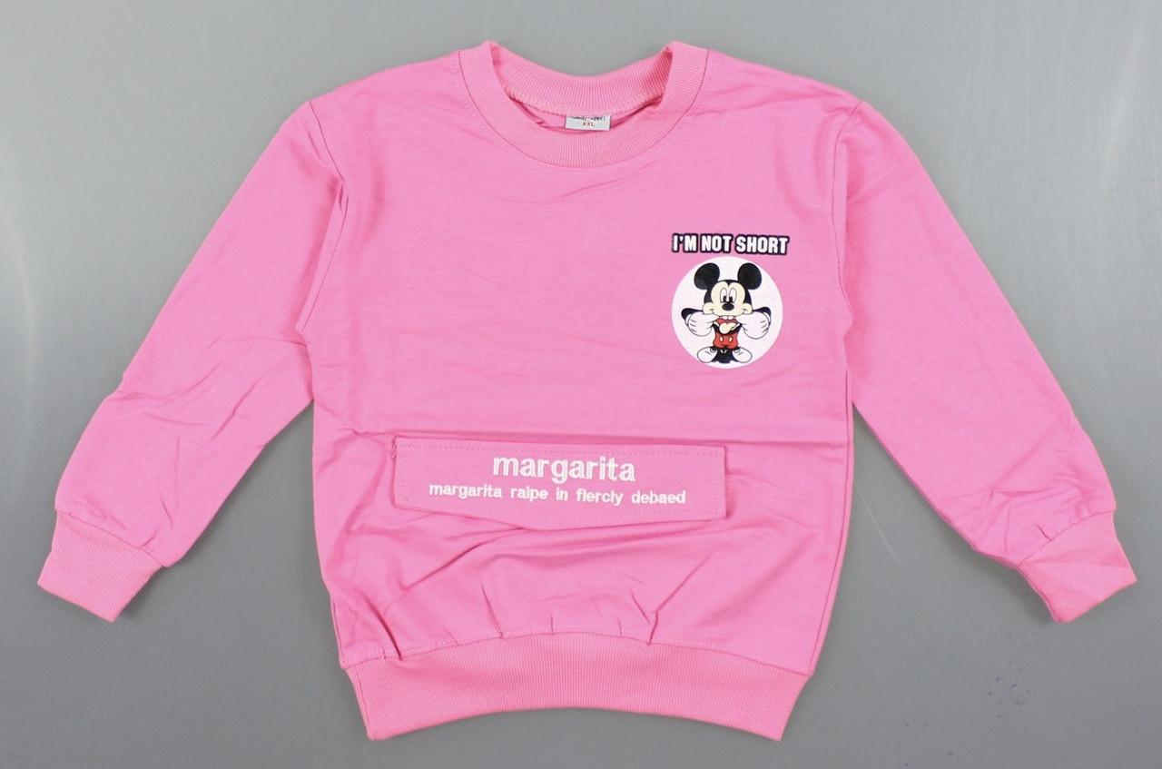 {есть:6(XXL) лет} Кофта для девочек Pelin Kids, 3-6 лет. Артикул: P409-розовый