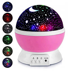 Проектор звездного неба Star Master Dream Розовый (000302)