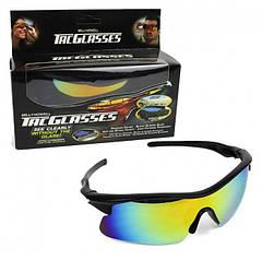 Очки солнцезащитные антибликовые Bell Howell Tac Glasses (005001)