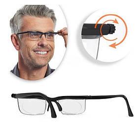 Очки лупа с регулировкой линз увеличительные Dial Vision (040100)