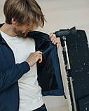 Куртка легкая ветровка мужская без капюшона р - ры S - XХL, фото 8