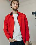 Куртка легкая ветровка мужская без капюшона р - ры S - XХL, фото 6