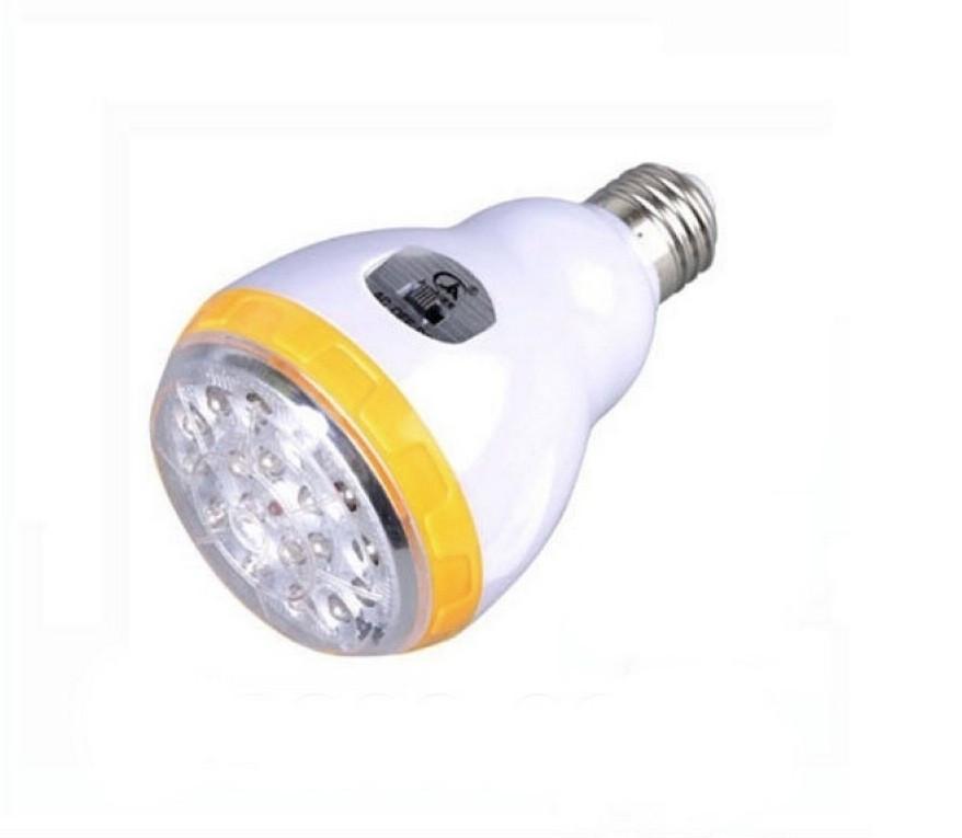 Лампа светодиодная Junai JA-219 со встроенным аккумулятором Желтая (020201)