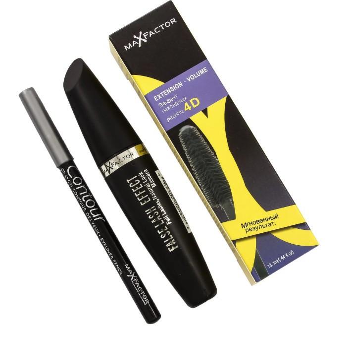 Тушь для ресниц Max Factor FALSE LASH EFFECT 4D+ карандаш (20403)