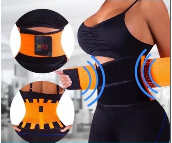Пояс для похудения и коррекции фигуры Xtreme Power Belt фитнес корсет Размер М (00070)
