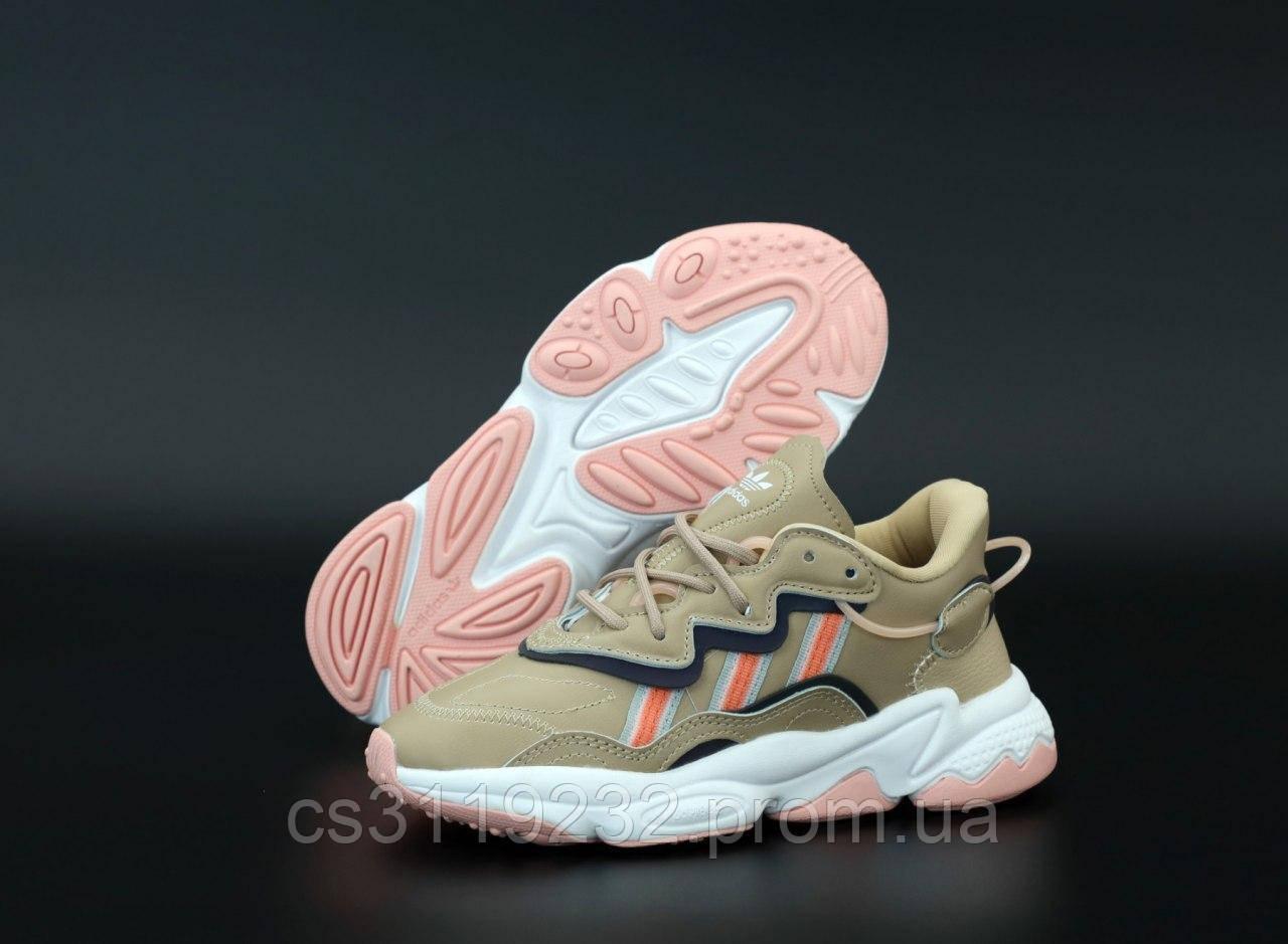 Жіночі кросівки Adidas Ozweego Beige (бежевий)