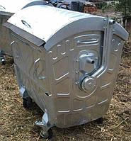 Контейнер для мусора оцинкованный 1,1 м3