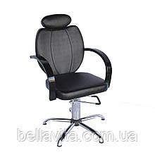 Парикмахерское кресло Толедо Люкс с подголовником