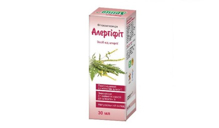 Аллергифит - краплі від алергії