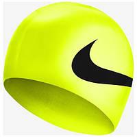 Шапочка для плавання Nike BIG SWOOSH SILICONE TRAINING CAP Жовтий