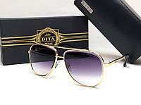 Мужские солнцезащитные очки авиаторы Dita (1002) gold