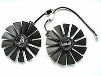Вентилятор №135.2 кулер для видеокарты ASUS STRIX Dual T129215SM FD10015H12S RX 470 570 580 FDC10M12S9-C