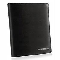 Чоловічий шкіряний гаманець Betlewski з RFID 12,5 х 10,5 х 2,5 (BPM-VTC-307) - чорний, фото 1