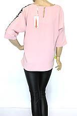 блуза великі розміри, фото 2