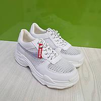 Кросівки жіночі KEDDO білі/сітка, фото 1