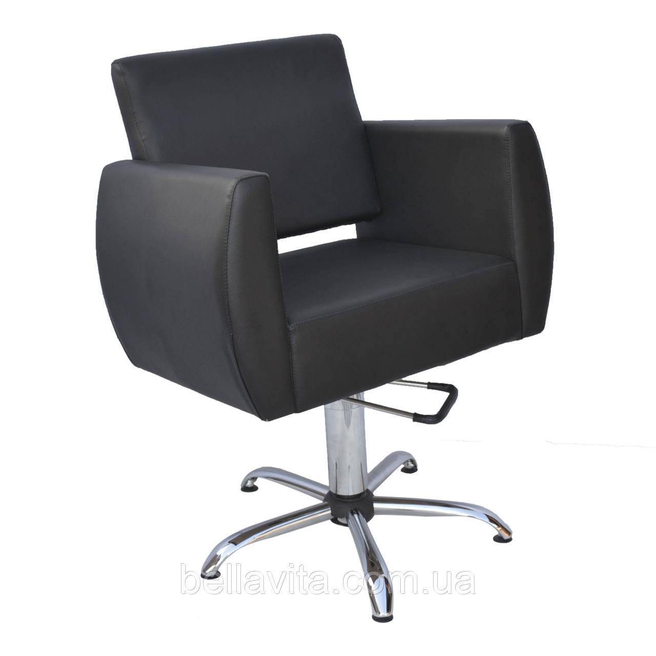 Кресло парикмахерское Бронкс на гидравлике