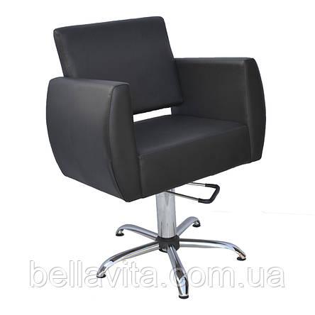 Кресло парикмахерское Бронкс на гидравлике, фото 2