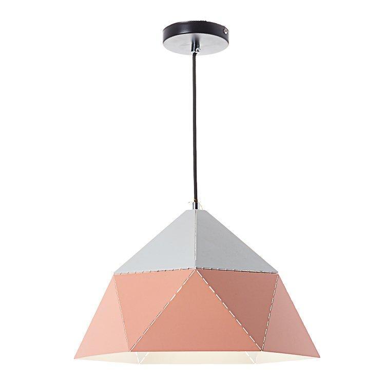 Люстра с треугольным дизайном SLAVIA NI002/L/peachy потолочная подвесная