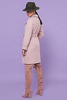 Симпатичное женское пальто средней длины, размер от 44 до 54, фото 2
