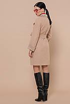 Симпатичное женское пальто средней длины, размер от 44 до 54, фото 3