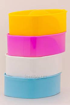 YRE Ванночка для маникюра, 1 шт ( Розовая, Белая, Голубая)
