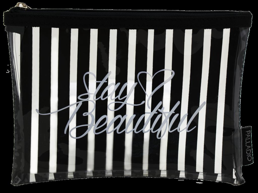 Palladio Прозрачная косметичка Stay Beautiful Makeup Bag