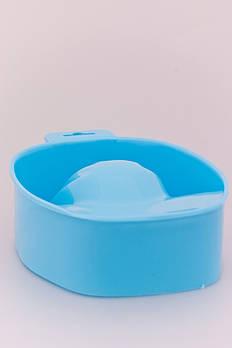 YRE Ванночка для маникюра, 1 шт ( Розовая, Белая, Голубая) Голубая
