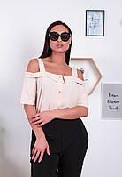 Элегантный женский брючный костюм тройка50-52 ;52-54р. (4расцв.)