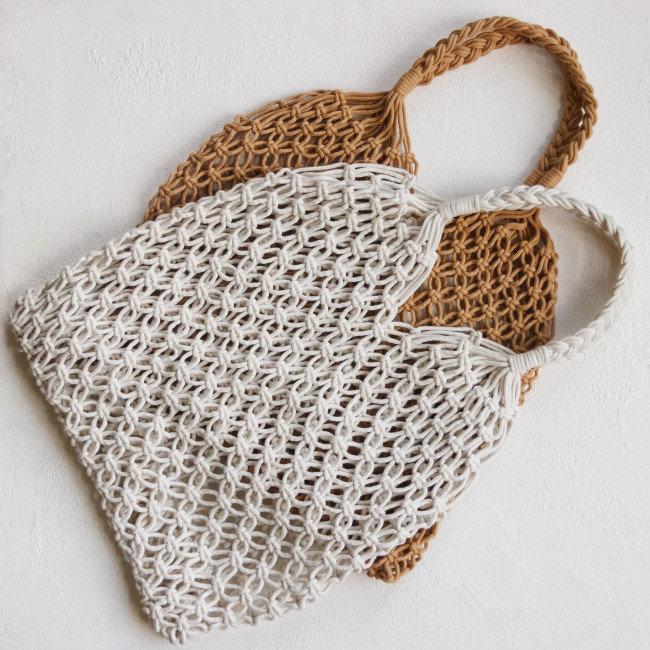 Плетеная сумка Salsa / Авоська, сумка-авоська, авоськи оптом, сумка для продуктов